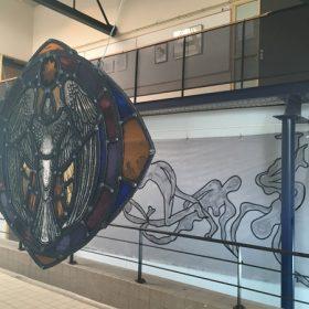 Ans Markus opent expositie '45 jaar Blauwe Schuit'